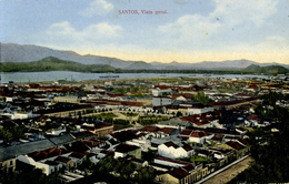 BRAZIL - SANTOS - VISTA GERAL - EARLY 1900s - Brazil