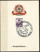 Österreich 1938    Sonderstempel   Tag Des Großdeutschen Reichs Wien 9.4. 1938 - Used Stamps