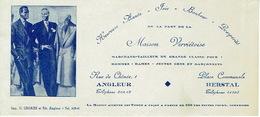 BUVARD Publicitaire MAISON VERVIETOISE à ANGLEUR & HERSTAL - Marchand-tailleur De Grade Classe - Textile & Vestimentaire
