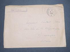 FRANCE - Enveloppe En FM De L 'Ecole D 'Application Artillerie Pour Étampes En 1948 - L 7611 - Marcophilie (Lettres)