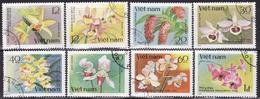 VIETNAM 1979 FLOWERS,ORCHIDS  SET  USED