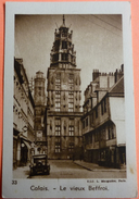 IMAGE JOUVENCE DE L' ABBE SOURY - N° 33 - CALAIS - LE VIEUX BEFFROI - SCAN RECTO/VERSO - Trade Cards