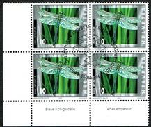 LA SERIE 4xBLOCS DE 4  OBLITERES 2002 C/DES TIMBRES SUISSES Nr:1061/1064. Y&TELLIER Nr:1727/1730. MICHEL Nr:1802/1805.