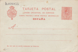 Entier Postal Espagne.