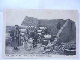 SUR LE FRONT RAVITAILLEMENT D ESSENCE - Guerre 1914-18