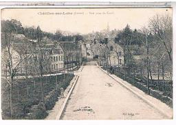 45  CHATILLON  SUR  LOIRE  VUE  PRISE  DU  CANAL   TBE  1A292 - Chatillon Sur Loire