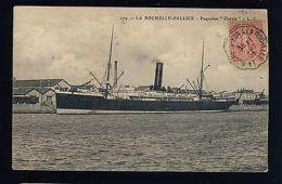 """FRANCE 1905 CONVOYEUR-LIGNE """"LA ROCHE-SUR-YON A LA ROCHELLE"""" /CP PAQUEBOT (0078)"""