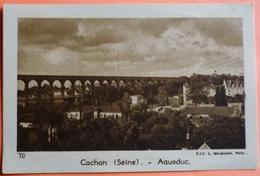 IMAGE JOUVENCE DE L' ABBE SOURY - N° 70 - CACHAN - AQUEDUC - SCAN RECTO/VERSO - Chromos