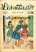 Lisette N°20  - Année 1949 - - Lisette