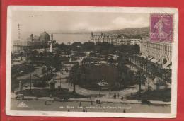 NICE  -  Les Jardins Vus Du Casino Municipal - 1933 - Parks, Gärten