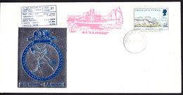 Tristan Da Cunha 1981 21st Voyage S.A. Agulhas Cover Ca Tristan Da Cunha 1 Sep 81 (F6247) - Tristan Da Cunha