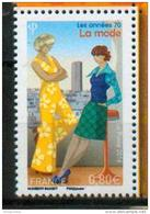 France 2016 - Les Années 70, La Mode / Fashion Of The 70's - MNH - Textil