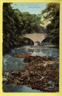 Northumberland - Morpeth, River Wansbeck, Milford - Wrench Series Postcard - 1905 - England