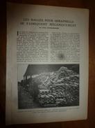 1917 LSELV :Balles SHRAPNELLS Fabrication Mécanique (Ovide Doublemarre);Armement SOUS-MARINS Canons Div.(Louis Dayral) - Barcos