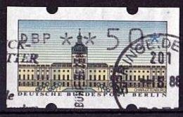 BERLIN Automatenmarke Mi. Nr. 1 O (50) (A-4-16)
