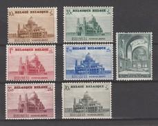 Belgique N° 471 à 477 *