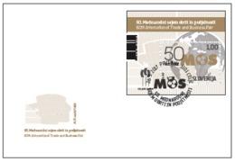 New Neu 2017 FDC International Trade And Business Fair (MOS) Celje; Maps