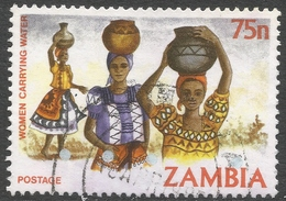 Zambia. 1981 Native Crafts. 75n Used. SG 349 - Zambia (1965-...)