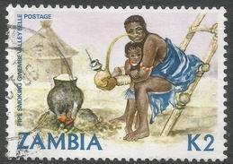 Zambia. 1981 Native Crafts. 2k Used. SG 351 - Zambia (1965-...)
