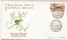ITALIA MONTECATINI TERME MAT 3 CORSO EUROPEP DE LINGUA TEDESCA - Idioma