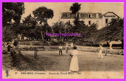 BEG-MEIL (29) - Tennis Du Grand Hôtel - Beg Meil