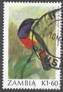Zambia. 1987 Birds (1st Series). 1k60 Used. SG 495 - Zambia (1965-...)
