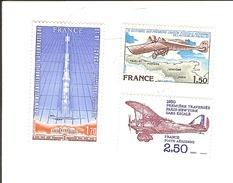 Tp090a. Yt 1979 à 1981. Ref  Aerien. 51.52.53.neuf ** Gomme D Origine.. Cote 2013...3.65.. à - 70 % - Airmail