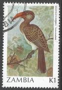 Zambia. 1987 Birds (1st Series). 1k Used. SG 493 - Zambia (1965-...)