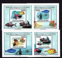 Comoros 2009 Fishes MNH - Marine Life