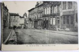 CPA 55 Bar Le Duc Rue Des Ducs De Bar Boulangerie 1918 - Bar Le Duc