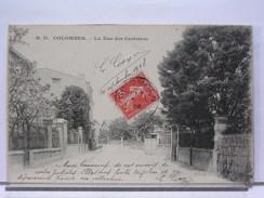 92 - COLOMBES - LA RUE DES CERISIERS - 1908 - Colombes