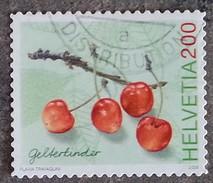 SUISSE - YT N°1904 - Flore / Cerises Gelterkinder - 2006 - Oblitéré