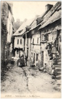 56 AURAY - Saint-Goustan - La Rue Neuve  (Recto/Verso) - Auray