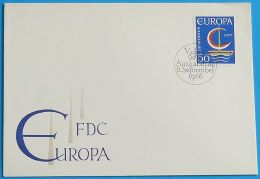 LIECHTENSTEIN 1966 MI-NR. 469 CEPT FDC - Europa-CEPT