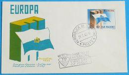 SAN MARINO 1963 MI-NR. 781 CEPT FDC - Europa-CEPT