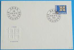 SCHWEIZ 1963 MI-NR. 781 CEPT FDC - Europa-CEPT