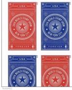USA 2015 World Stamp Show NY 2016 Imperf  4 X 0.49c  MNH** - United States