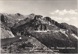 Cartolina - Postcard - ROMA - CERVARA DI ROMA - ALT M. 1100 -PAESAGGIO DOLOMITICO DELLE AUTOSTRADA ARSOLI CERVARA - Places & Squares