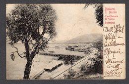 1902 CASTELLAMMARE DI STABIA PANORAMA DINTORNI DI NAPOLI FP V  SEE 2 SCANS TIMBRO CASTELLAMMARE TONDO RIQUADRATO - Napoli