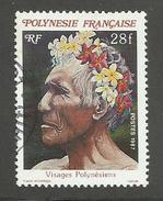POLYNESIE FRANCAISE - N°YT 272 OBLITERE - COTE YT : 0.50€ - 1987 - French Polynesia