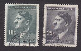 Bohemia And Moravia, Scott #80-81, Used, Hitler, Issued 1942 - Bohemia & Moravia