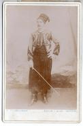Photo Cabinet - Un Zouave ? Photo Vuilley à Beaucourt - Guerre, Militaire