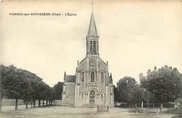 - Cher - Ref-355 - Vignoux Sur Barangeon - L Eglise - Carte Bon Etat - - France