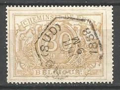Belgique - Chemin De Fer - TR12 - Obl. GAND (SUD) - Used