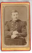Photo CDV - Soldat Du 7 ème RI - Ph. Albert à Cahors - Krieg, Militär