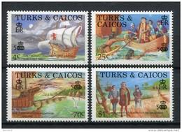 Turks & Caicos 1989. Yvert 777-80 ** MNH.