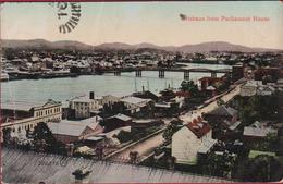 Australia Australie Brisbane From Parliament House Queensland  - 1910 - Brisbane
