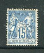 FRANCE- Y&T N°101- Neuf Sans Charnière **, Mais Gomme Altérée