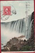 Niagara Falls New York State Horseshoe Falls From Below Waterfall Waterval Cascade Chute D'eau Cataracte Wasserfall 1910 - NY - New York