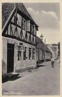 Denmark Riber Fiskergade Street Scene